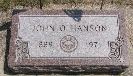 HANSON, JOHN O. - Turner County, South Dakota   JOHN O. HANSON - South Dakota Gravestone Photos