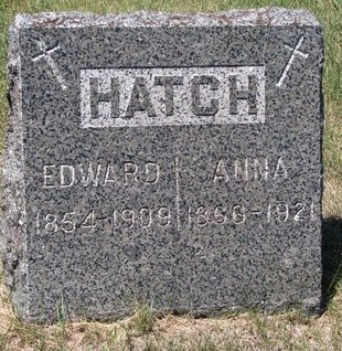 HATCH, ANNA - Turner County, South Dakota | ANNA HATCH - South Dakota Gravestone Photos