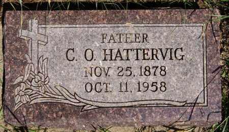 HATTERVIG, C O - Turner County, South Dakota   C O HATTERVIG - South Dakota Gravestone Photos