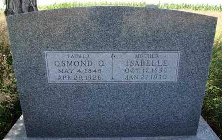 HATTERVIG, OSMOND O - Turner County, South Dakota | OSMOND O HATTERVIG - South Dakota Gravestone Photos