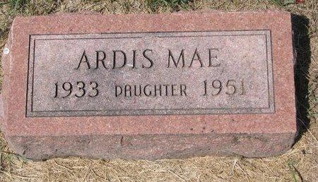 HAVERBERG, ARDIS MAE - Turner County, South Dakota   ARDIS MAE HAVERBERG - South Dakota Gravestone Photos