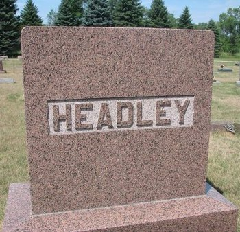 HEADLEY, *FAMILY MONUMENT - Turner County, South Dakota | *FAMILY MONUMENT HEADLEY - South Dakota Gravestone Photos