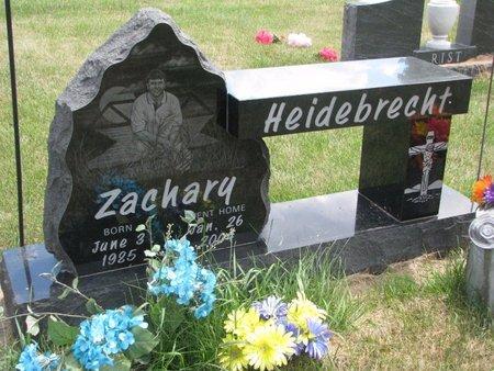 HEIDEBRECHT, ZACHARY - Turner County, South Dakota   ZACHARY HEIDEBRECHT - South Dakota Gravestone Photos