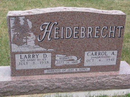 HEIDEBRECHT, LARRY D. - Turner County, South Dakota   LARRY D. HEIDEBRECHT - South Dakota Gravestone Photos