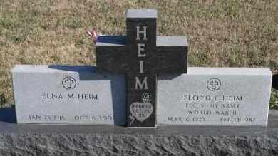 HEIM, ELNA M - Turner County, South Dakota | ELNA M HEIM - South Dakota Gravestone Photos