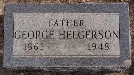 HELGERSON, GEORGE - Turner County, South Dakota   GEORGE HELGERSON - South Dakota Gravestone Photos