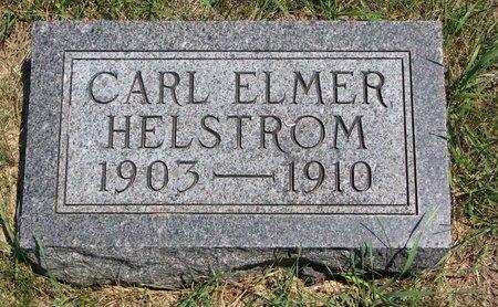 HELSTROM, CARL ELMER - Turner County, South Dakota   CARL ELMER HELSTROM - South Dakota Gravestone Photos