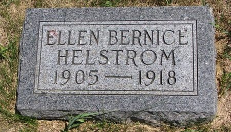 HELSTROM, ELLEN BERNICE - Turner County, South Dakota | ELLEN BERNICE HELSTROM - South Dakota Gravestone Photos