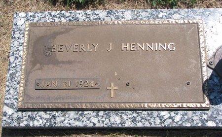 MIKKELSON HENNING, BEVERLY JEAN - Turner County, South Dakota | BEVERLY JEAN MIKKELSON HENNING - South Dakota Gravestone Photos