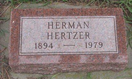 HERTZER, HERMAN - Turner County, South Dakota | HERMAN HERTZER - South Dakota Gravestone Photos