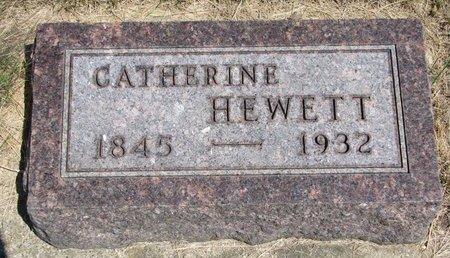 DAVIS HEWETT, CATHERINE - Turner County, South Dakota | CATHERINE DAVIS HEWETT - South Dakota Gravestone Photos