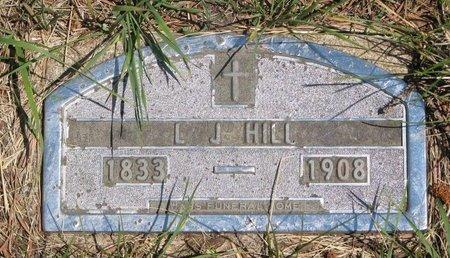 HILL, L.J. - Turner County, South Dakota | L.J. HILL - South Dakota Gravestone Photos