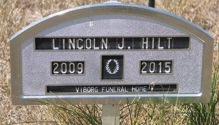 HILT, LINCOLN J. - Turner County, South Dakota   LINCOLN J. HILT - South Dakota Gravestone Photos