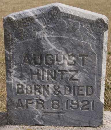 HINTZ, AUGUST - Turner County, South Dakota   AUGUST HINTZ - South Dakota Gravestone Photos