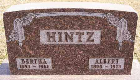 HINTZ, BERTHA - Turner County, South Dakota | BERTHA HINTZ - South Dakota Gravestone Photos