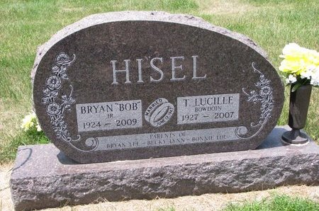 BOWDOIN HISEL, T. LUCILLE - Turner County, South Dakota | T. LUCILLE BOWDOIN HISEL - South Dakota Gravestone Photos