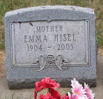HISEL, EMMA - Turner County, South Dakota | EMMA HISEL - South Dakota Gravestone Photos