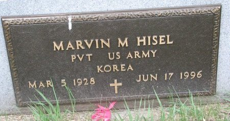 HISEL, MARVIN M. (MILITARY) - Turner County, South Dakota | MARVIN M. (MILITARY) HISEL - South Dakota Gravestone Photos