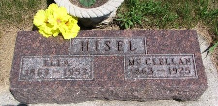 HISEL, ELLA - Turner County, South Dakota | ELLA HISEL - South Dakota Gravestone Photos