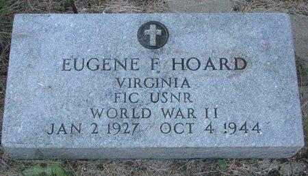 HOARD, EUGENE F. - Turner County, South Dakota | EUGENE F. HOARD - South Dakota Gravestone Photos