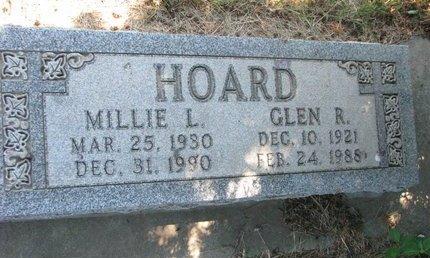 HOARD, MILLIE L. - Turner County, South Dakota | MILLIE L. HOARD - South Dakota Gravestone Photos