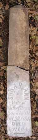 HOEFLINGER, SARAH ANN - Turner County, South Dakota | SARAH ANN HOEFLINGER - South Dakota Gravestone Photos