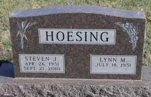 HOESING, LYNN M - Turner County, South Dakota | LYNN M HOESING - South Dakota Gravestone Photos