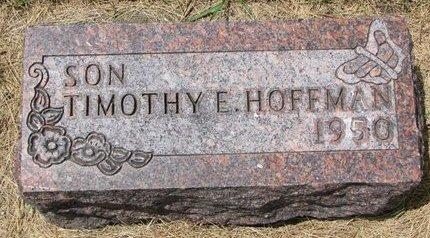 HOFFMAN, TIMOTHY E. - Turner County, South Dakota | TIMOTHY E. HOFFMAN - South Dakota Gravestone Photos