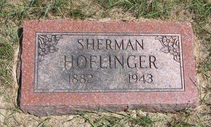 HOFLINGER, SHERMAN - Turner County, South Dakota | SHERMAN HOFLINGER - South Dakota Gravestone Photos