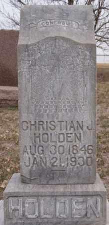 HOLDEN, CHRISTIAN J - Turner County, South Dakota | CHRISTIAN J HOLDEN - South Dakota Gravestone Photos