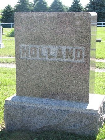 HOLLAND, *FAMILY MONUMENT - Turner County, South Dakota | *FAMILY MONUMENT HOLLAND - South Dakota Gravestone Photos