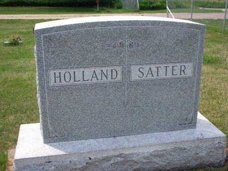 HOLLAND - SATTER, *FAMILY MONUMENT - Turner County, South Dakota | *FAMILY MONUMENT HOLLAND - SATTER - South Dakota Gravestone Photos