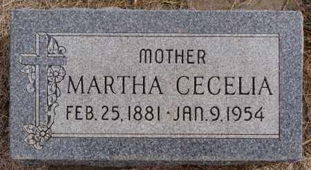 HOLLAND, MARTHA CECELIA - Turner County, South Dakota | MARTHA CECELIA HOLLAND - South Dakota Gravestone Photos