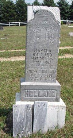 HOLLAND, MARTHA - Turner County, South Dakota | MARTHA HOLLAND - South Dakota Gravestone Photos