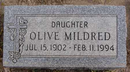 HOLLAND, OLIVE MILDRED - Turner County, South Dakota | OLIVE MILDRED HOLLAND - South Dakota Gravestone Photos