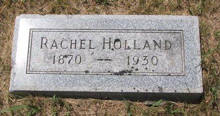 HOLLAND, RACHEL - Turner County, South Dakota | RACHEL HOLLAND - South Dakota Gravestone Photos