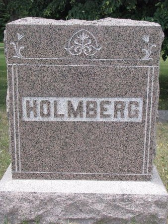 HOLMBERG, *FAMILY MONUMENT - Turner County, South Dakota | *FAMILY MONUMENT HOLMBERG - South Dakota Gravestone Photos