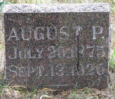 HOLMBERG, AUGUST P. - Turner County, South Dakota | AUGUST P. HOLMBERG - South Dakota Gravestone Photos