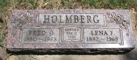 HOLMBERG, FRED O. - Turner County, South Dakota   FRED O. HOLMBERG - South Dakota Gravestone Photos