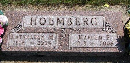 HOLMBERG, KATHALEEN M. - Turner County, South Dakota | KATHALEEN M. HOLMBERG - South Dakota Gravestone Photos