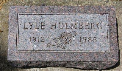 HOLMBERG, LYLE - Turner County, South Dakota   LYLE HOLMBERG - South Dakota Gravestone Photos