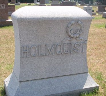 HOLMQUIST, *FAMILY MONUMENT - Turner County, South Dakota | *FAMILY MONUMENT HOLMQUIST - South Dakota Gravestone Photos