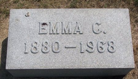 ANDERSON HOLMQUIST, EMMA CAROLINE - Turner County, South Dakota | EMMA CAROLINE ANDERSON HOLMQUIST - South Dakota Gravestone Photos