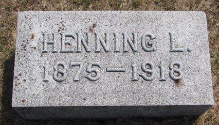 HOLMQUIST, HENNING L. - Turner County, South Dakota | HENNING L. HOLMQUIST - South Dakota Gravestone Photos