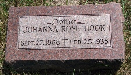 HOOK, JOHANNA ROSE - Turner County, South Dakota | JOHANNA ROSE HOOK - South Dakota Gravestone Photos