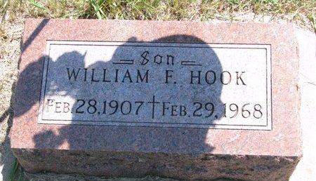 HOOK, WILLIAM F. - Turner County, South Dakota | WILLIAM F. HOOK - South Dakota Gravestone Photos