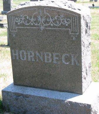 HORNBECK, *FAMILY MONUMENT - Turner County, South Dakota | *FAMILY MONUMENT HORNBECK - South Dakota Gravestone Photos