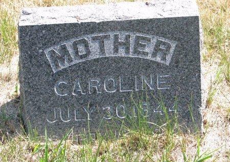 HORNBECK, CAROLINE - Turner County, South Dakota | CAROLINE HORNBECK - South Dakota Gravestone Photos
