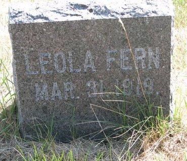 HORNBECK, LEOLA FERN - Turner County, South Dakota   LEOLA FERN HORNBECK - South Dakota Gravestone Photos
