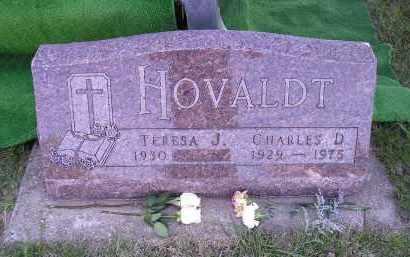 HOVALDT, TERESA J. - Turner County, South Dakota | TERESA J. HOVALDT - South Dakota Gravestone Photos